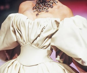 ball gown, dress, and haute couture image