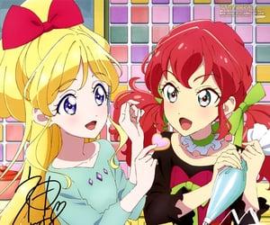 anime, baking, and girls image
