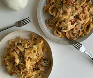 food, pasta, and breakfast image