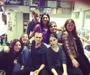 cast, Chace Crawford, and michelle trachtenberg image