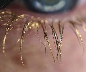 eyelashes, eyes, and goddess image
