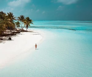 beach, beautiful places, and luxury lifestyle image