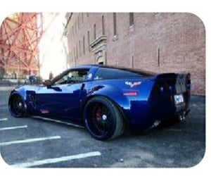 cars, Corvette, and sportscars image