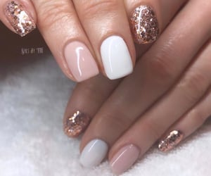 nails, salon, and glam nails image