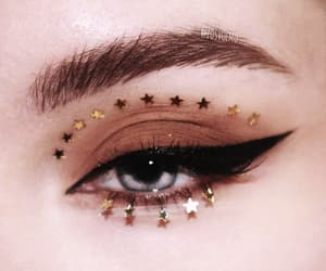 makeup, stars, and beauty image