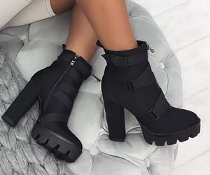 black, boots, and botas image