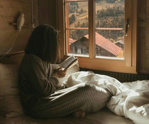 aesthetic, books, and morning image