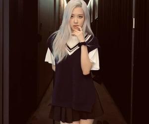 blink, korea, and korean fashion image