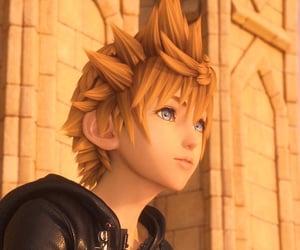 kingdom hearts, videogame, and square enix image