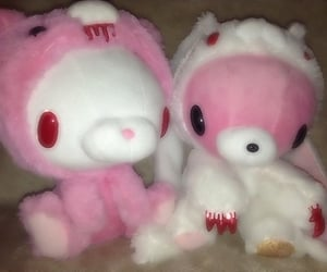 angel, bunny, and gloomy bear image