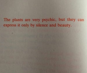 plants, quotes, and words image