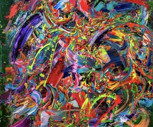 madness, art, and colorful image