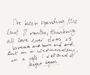 Taylor Swift, begin again, and Lyrics image