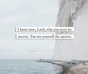 answer, believe, and Christianity image