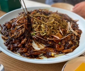 food, korean, and photo image