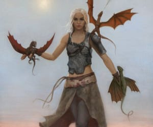 game of thrones, house targaryen, and daenerys targaryen image