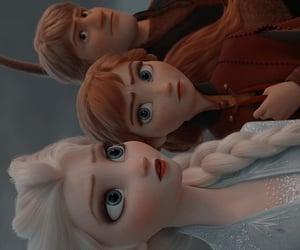 anna, disney, and sven image