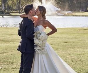 bride, romance, and wedding image