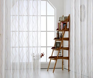 sheer, net curtains, and white sheer curtains image