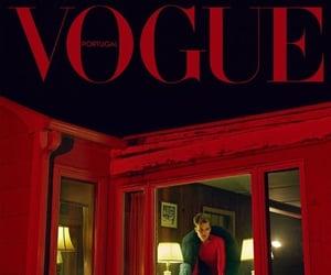 advertisement, model, and magazine ad image