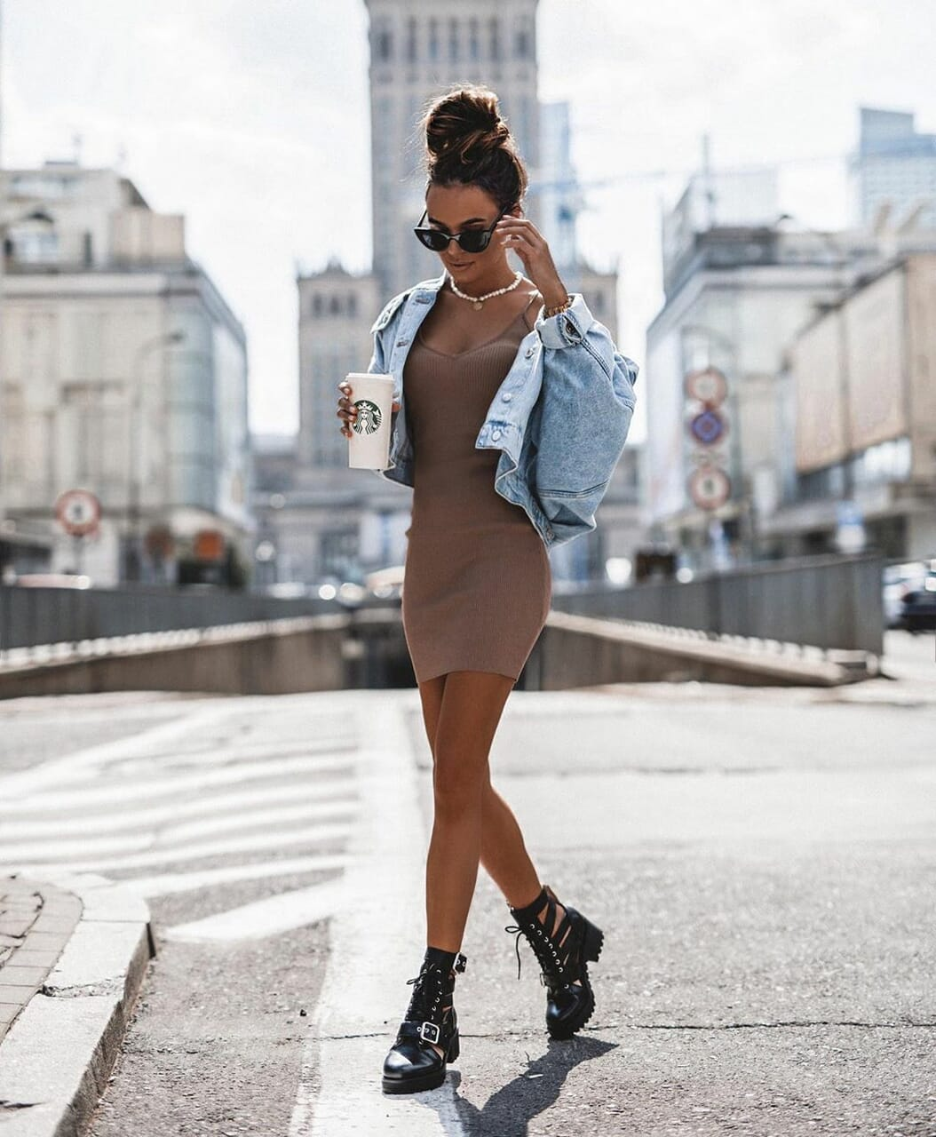 blogger, chloe boots, and outfit image