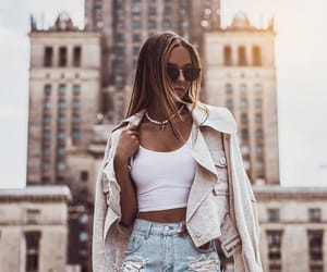 blogger, cropped, and fashion image