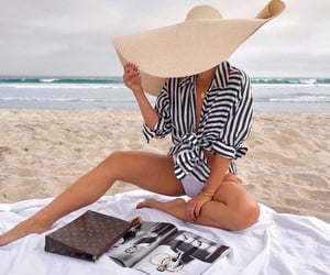 style, beach, and fashion image