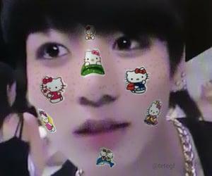 hello kitty, bts, and jungkook image