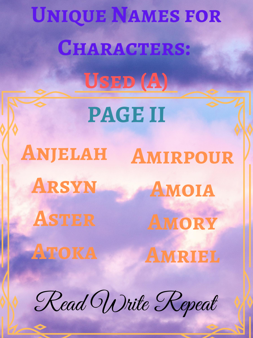 character, story, and name image