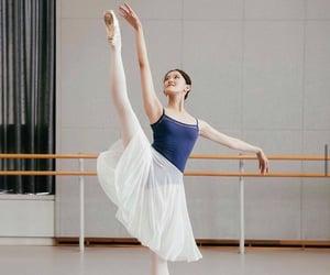 ballerina, elegance, and love image