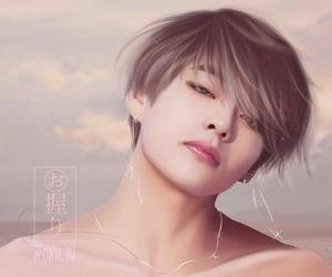 fanart, kim taehyung, and kpop fan art image