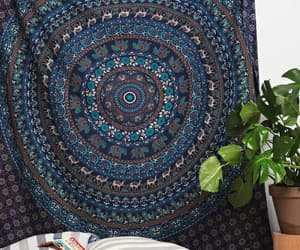 etsy, hippie tapestry, and indian tapestry image