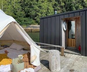 adventure, british columbia, and cabin image