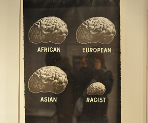 racist, brain, and African image