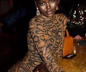 black women, feminine, and shaved hair image