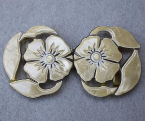 carved celluloid, buckles, and etsy image