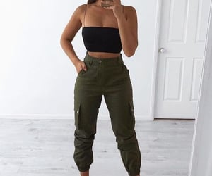 Cargo Pant Outfit (trendy)