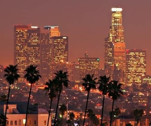california, city, and los angeles image