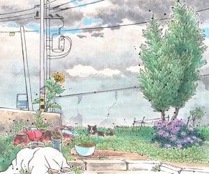 illustration, wallpaper, and grafolio image