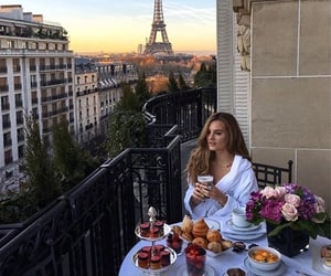 paris, luxury, and breakfast image