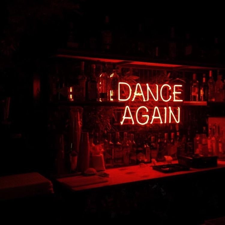 dance, red, and neon image