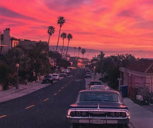 beautiful, car, and neighborhood image