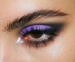 makeup, fashion, and purple image
