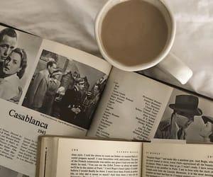 books, Casablanca, and coffee image