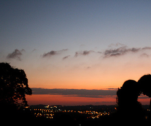 couples, sunset, and eu acredito. image