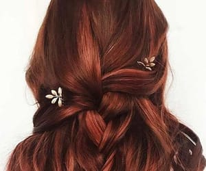 hair, red, and romantic image