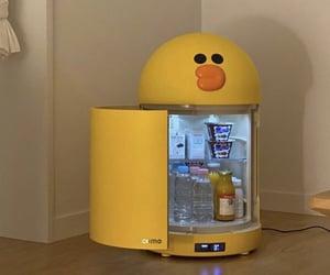 interior design, mini fridge, and interior ideas image