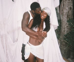 Relationship, black love, and couples image