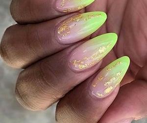 beauty, nail polish, and summer image