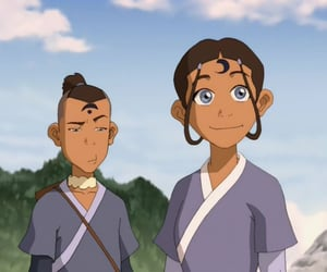 animated, cartoons, and avatar the last airbender image